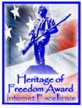 Hearatage of Freedom Award