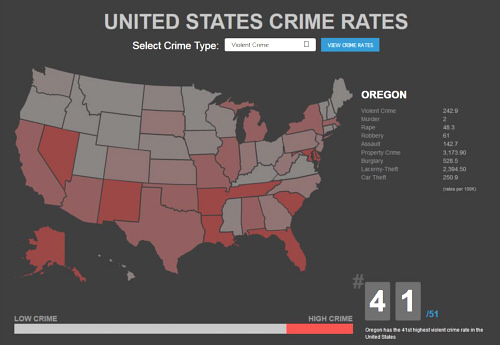 united states crime or data aficionado Among some of the other statistics contained in crime in the united states, 2015: the estimated number of murders in the nation was 15,696 during the year, there were an estimated 90,185 rapes.